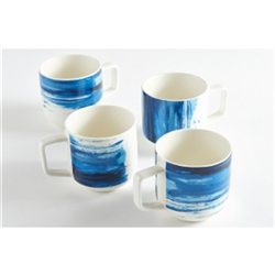 Ice Flow Set 4 Mugs 350ml Coup