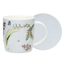 Ecology May Gibbs Boronia Mug & Coaster 320ml