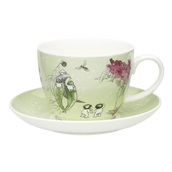 Ecology May Gibbs Gumnut Cup & Saucer 430ml