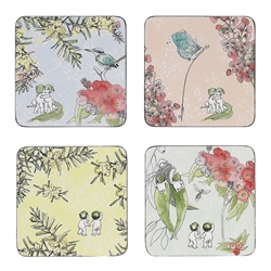 May Gibbs Bushlands Set of 4 Coasters