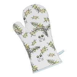 Wattle Oven Gloves 18 x 32cm