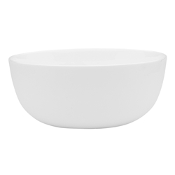 Canvas White Noodle Bowl