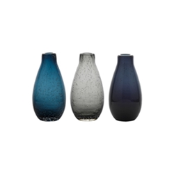 Ecology Halo Droplet  Moods Vases Set of 3 5.5cm x 9.5cm