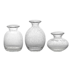 Ecology Halo Vignette Icicle Vases Set of 3
