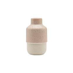 Ecology Duo Squat Vase 18cm River Salt
