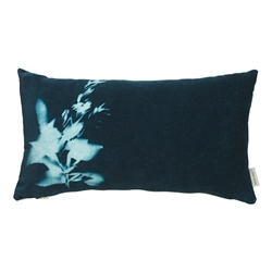 Sunprint Velvet Cushion
