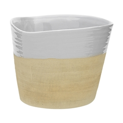 Cane Large Planter Oyster