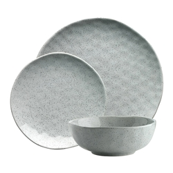Ecology Speckle 12 piece Dinnerset Duckegg