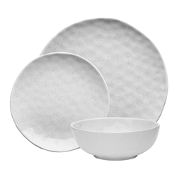 Ecology Speckle Milk Dinner Set 12pc
