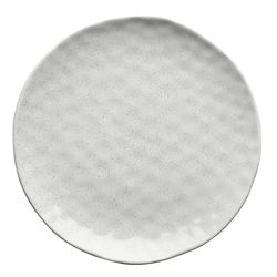 Ecology Speckle Milk Dinner Plate 27cm