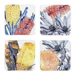 Ecology Florae Set of 4 Coasters 10cm