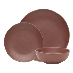 Ecology Sahara Cinnamon 12p Dinner Set