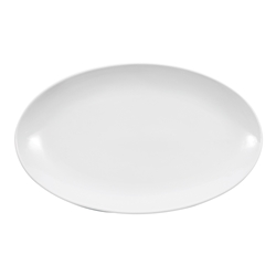 COUPE OVAL PLATTER 18""