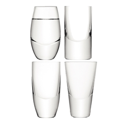 Lulu Vodka Glass Assorted 4