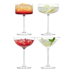 Lulu Cocktail Glass Assorted 4