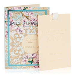 Amalfi Dolce Sole Scented Card