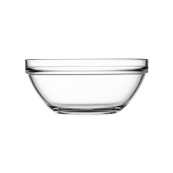 CHEFS BOWL TEMPERED 23CM