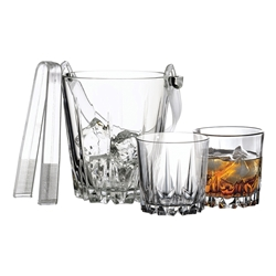 KARAT 7PC WHISKY SET W/ TONGS