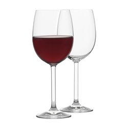 Rona BIN 2611 350ml Red Wine Glass Gift boxed Set of 6