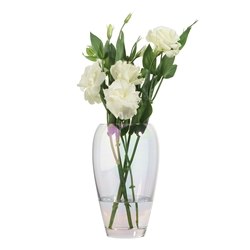 Jewel  Quartz Barrel Vase 23cm