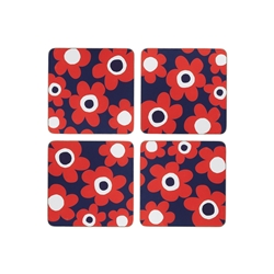 Carnaby Duo Floral Coasters S4