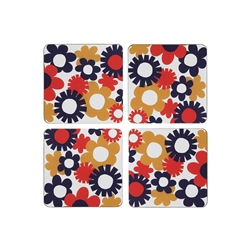 Carnaby Floral Fields Coasters