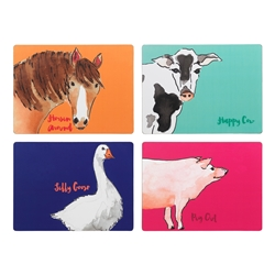 Funny Farm Placemats