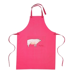 Funny Farm Pig Out  Apron