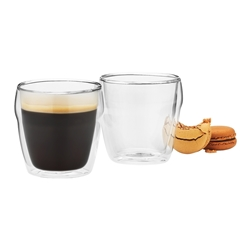 Cafe Double Wall Latte Glass