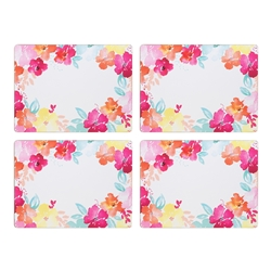 Summer Bloom Place Mats S/4