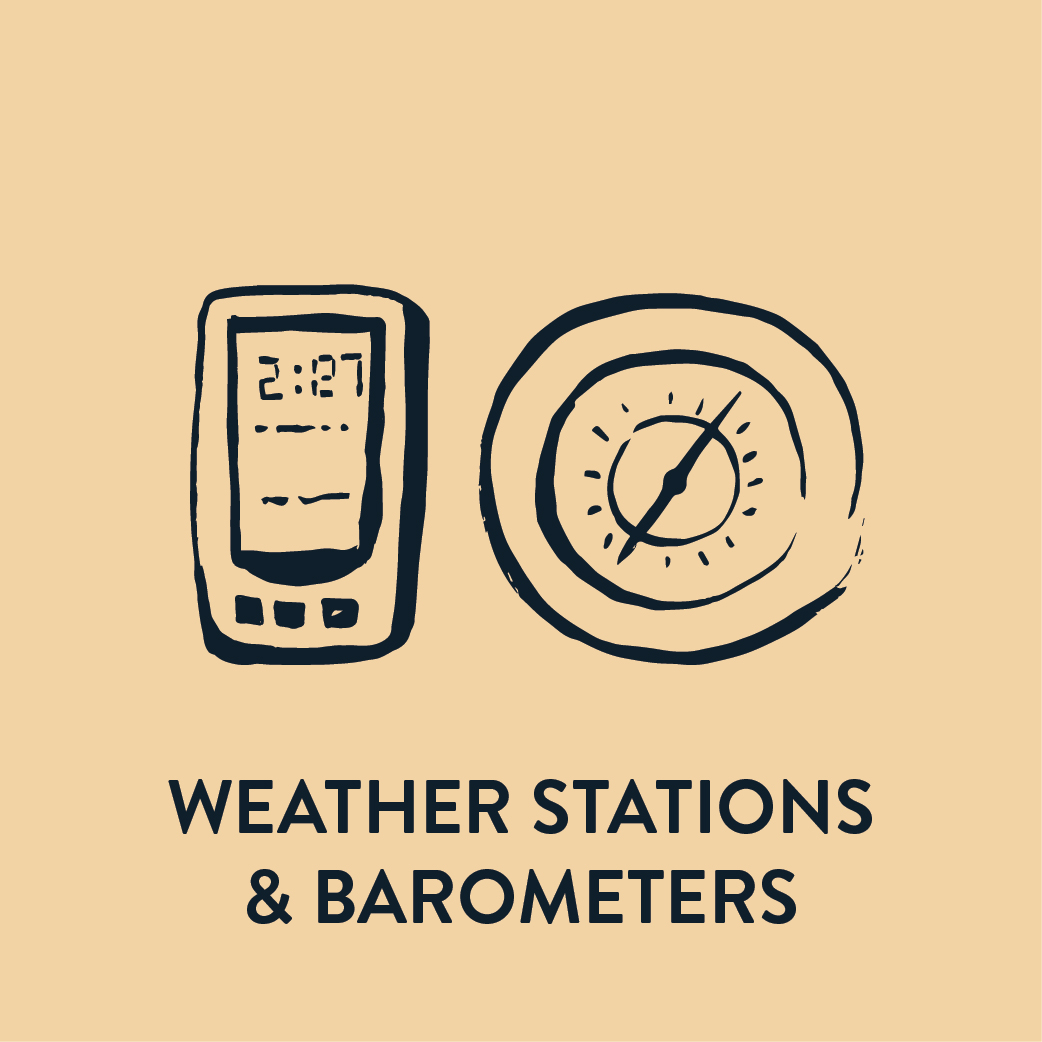 Weather Stations & Barometers