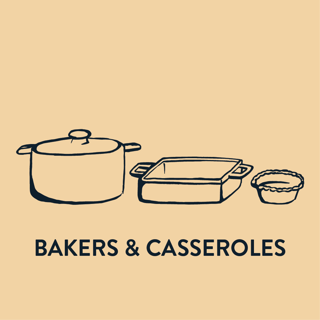 Bakers & Casseroles