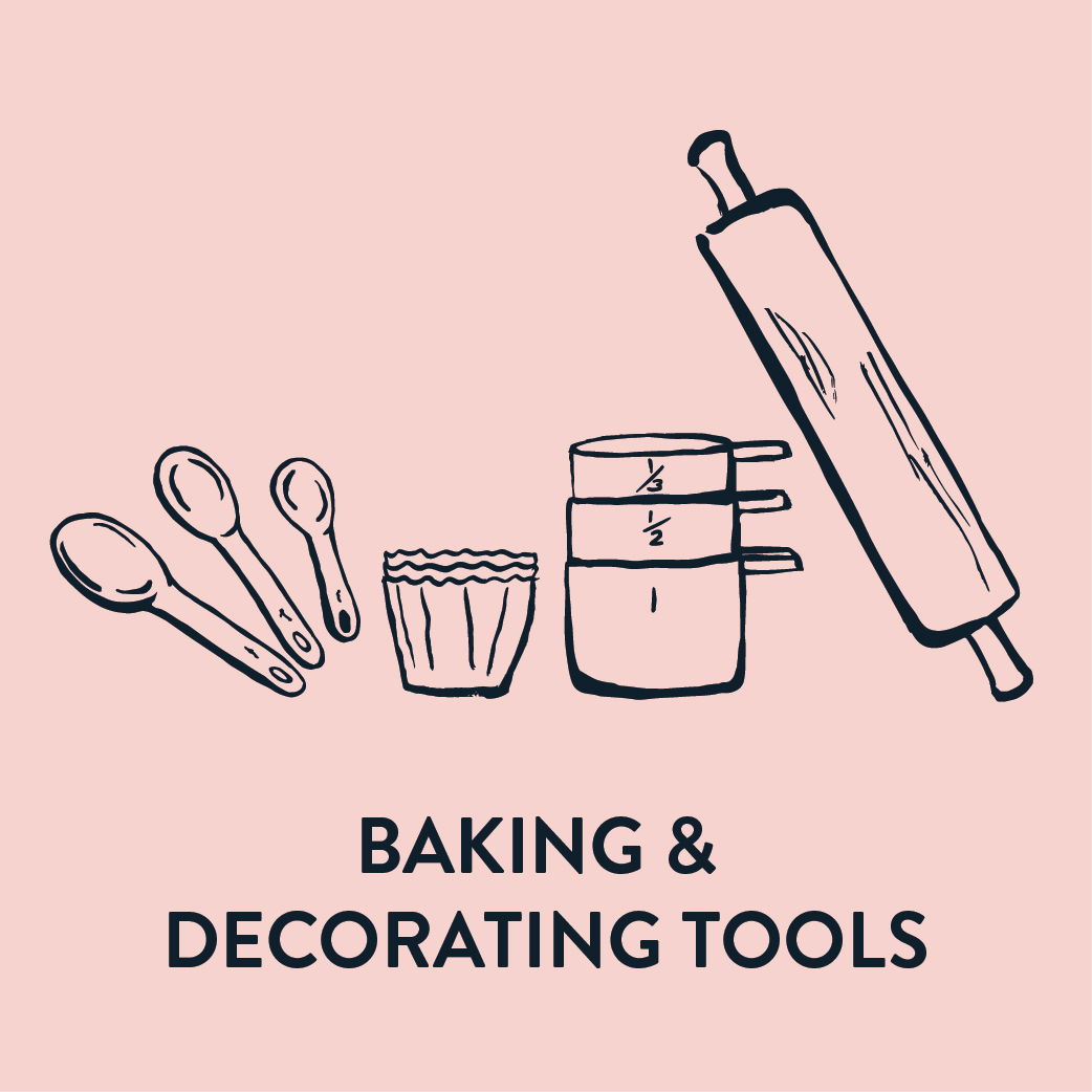 Baking & Decorating Tools