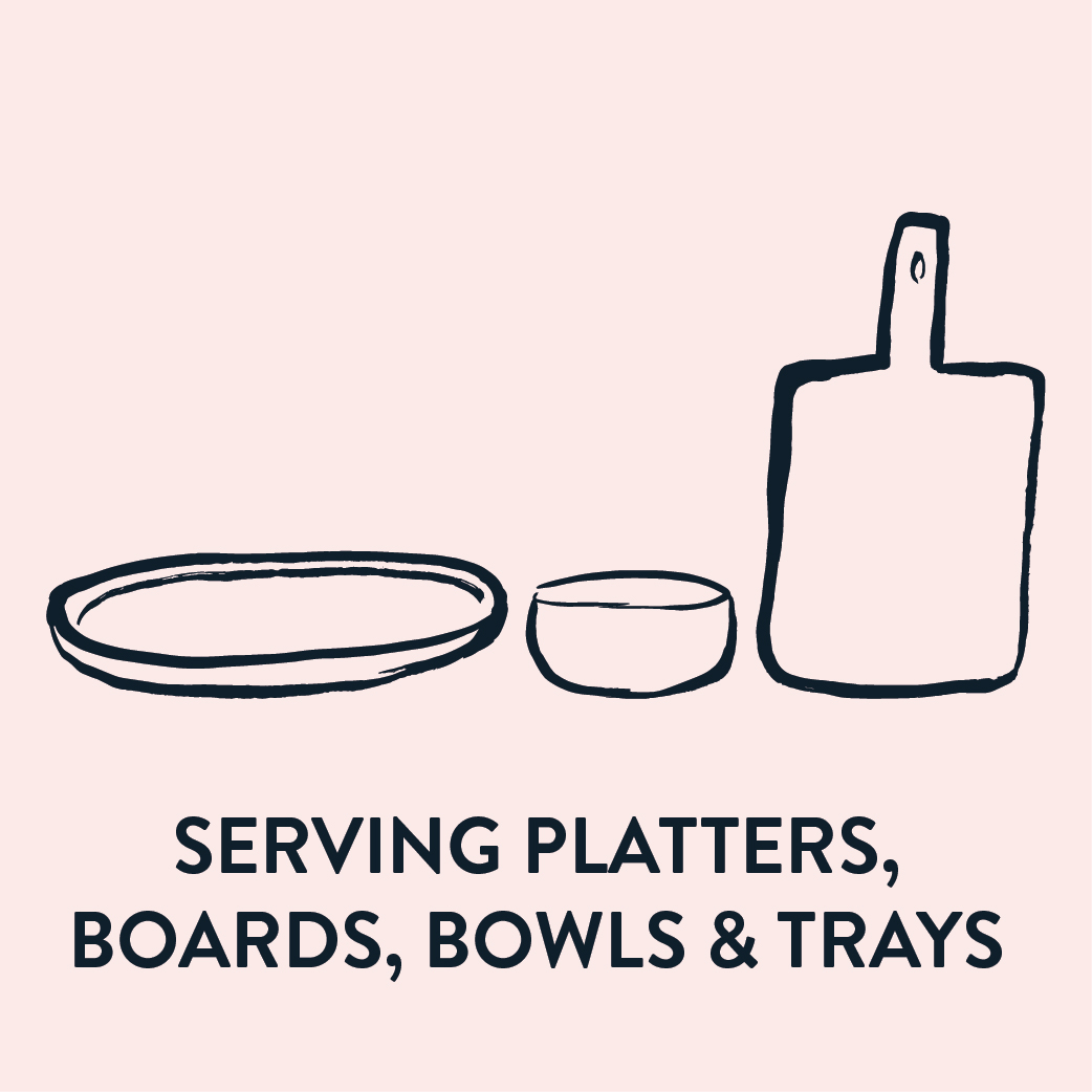 Serving Platters, Boards, Bowl