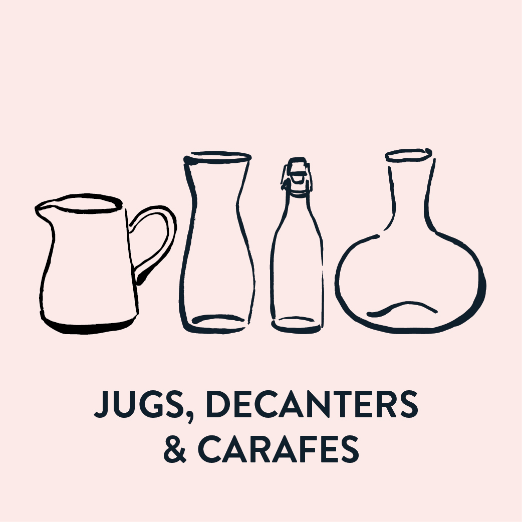 Jugs, Decanters & Carafes